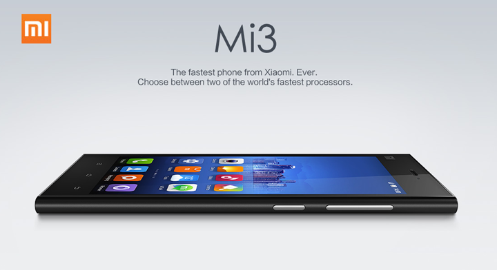 Xiaomi Mi3 in india
