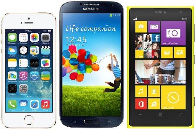 5s-s4-lumia1020