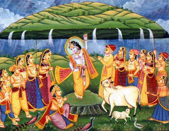 pbaaaa028_krishna_lifting_mount_goverdhan