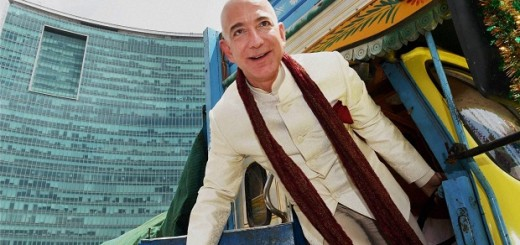 Amazon Founder CEO Jeff Bezos in Bengaluru