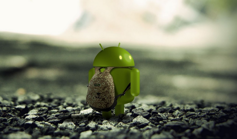 android looking back