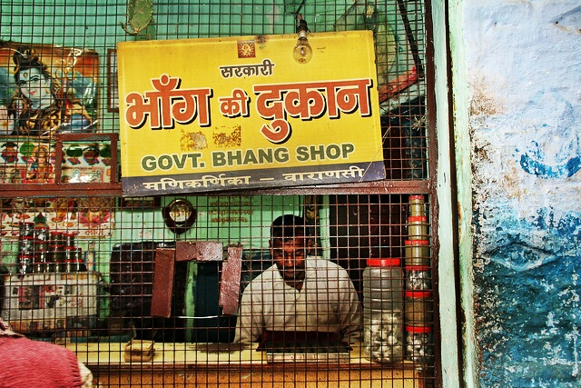 bhangs vends banaras_1