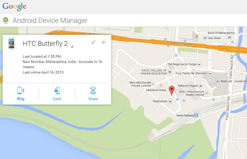 google-find-my-phone-map