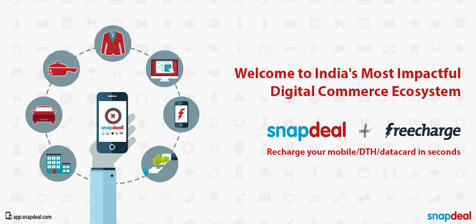 Snapdeal-Acquires-FreeCharge-To-Become-The-Largest-Mobile-Commerce-Company-In-India
