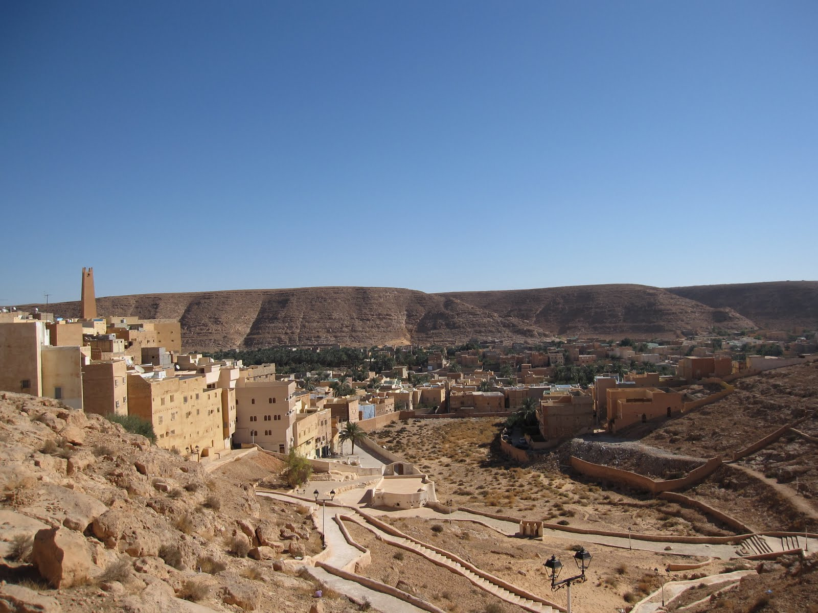 El-Atteuf, the oldest of the five valley towns, founded in 1013