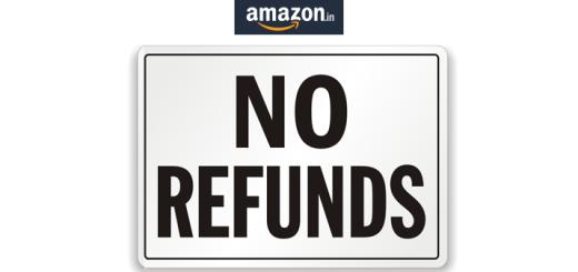Amazon No refund mobile