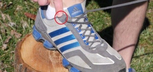 Running Shoes Holes