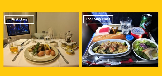 airline-food-business-vs-economy