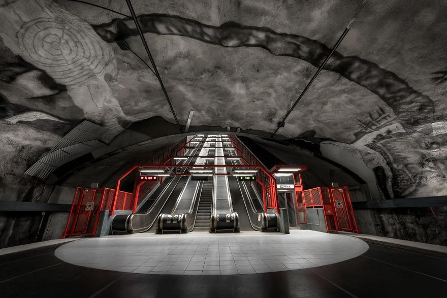 Stockholm rail system