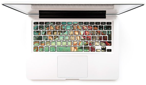 Keyboard Stickers etsy
