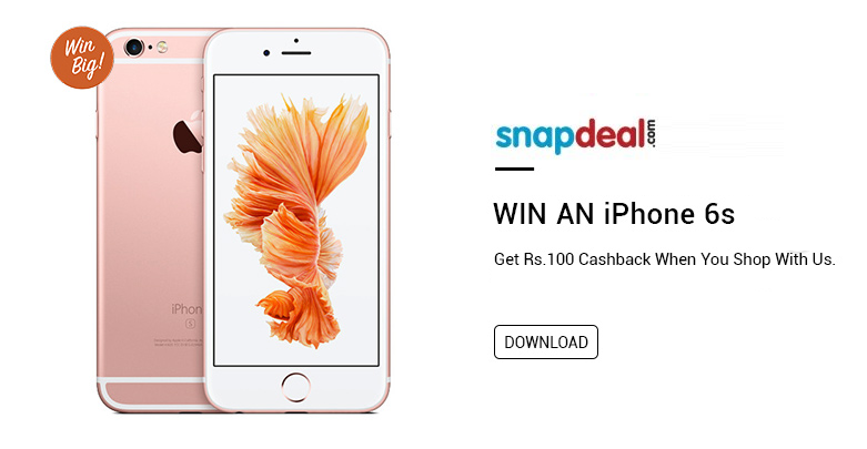 snapdeal iphone giveaway
