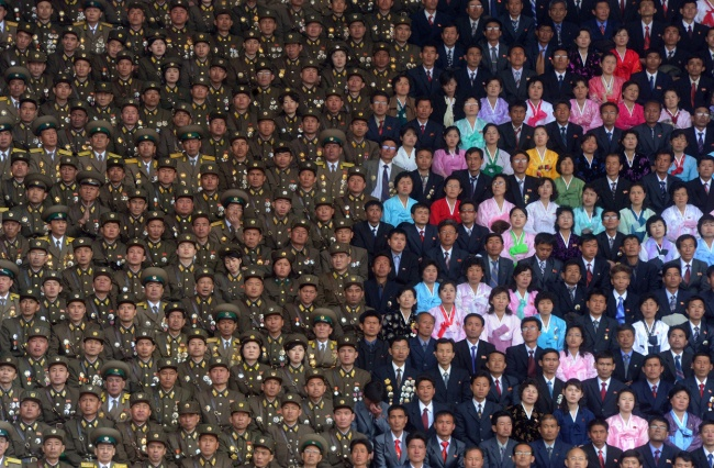 The North Korean military