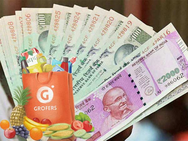 Order Cash from Grofers