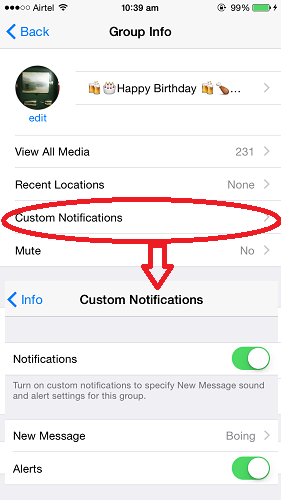 Custom-Notifications