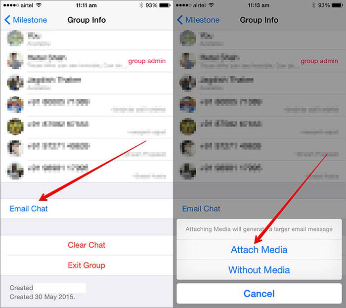 Tap-on-Email-Chat-in-WhatsApp-on-iPhone