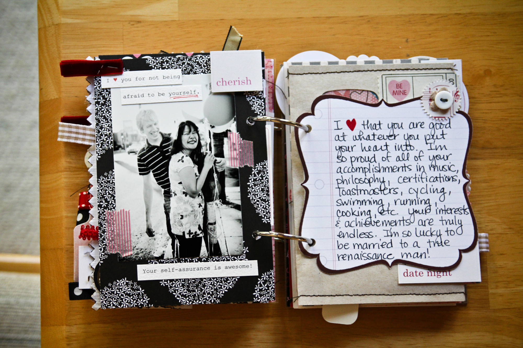 How to make scrapbook for husband -  Make It Your Thing Online Offers Valentine Day Offers Valentine Gifts