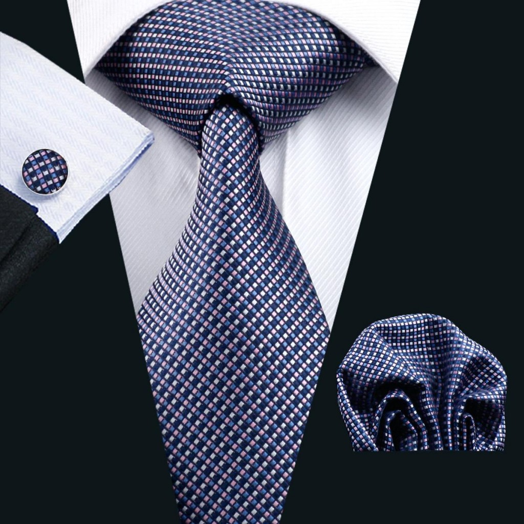 blue-silk-tie-for-men-pocket-square-cufflinks