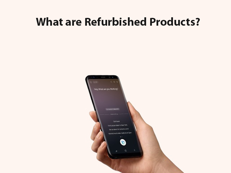 refurbished products