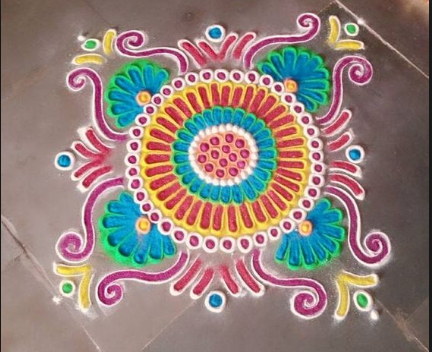 Colorful-Rangolis