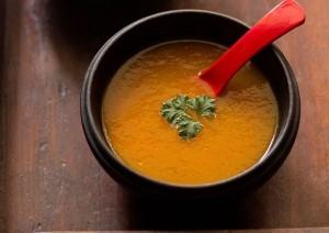 tomato carrot soupe