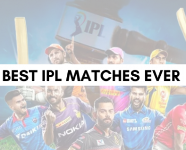 Best IPL Match